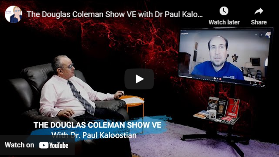 Dr paul on the douglas coleman show
