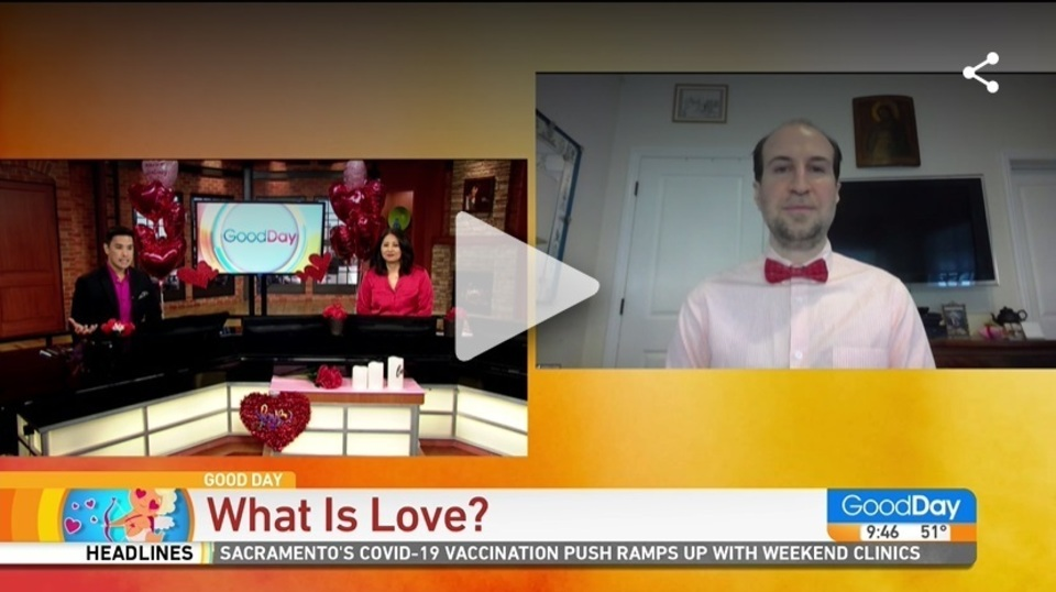 What is love interview with goodday cw