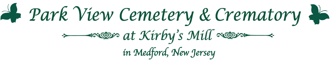 Park View Cemetery and Crematory at Kirby's Mill