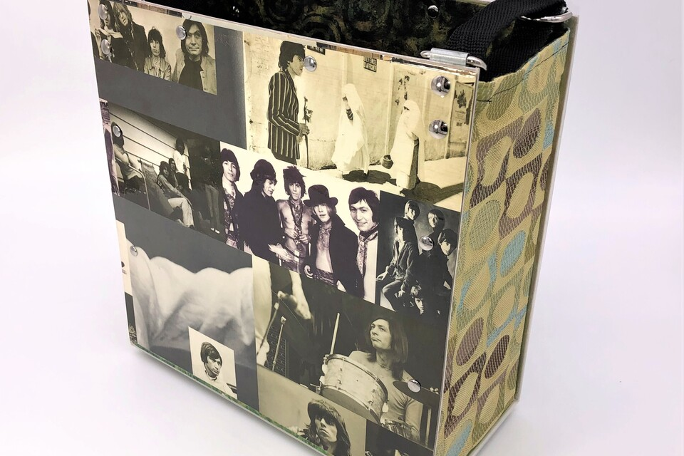 Tote rolling stones   back