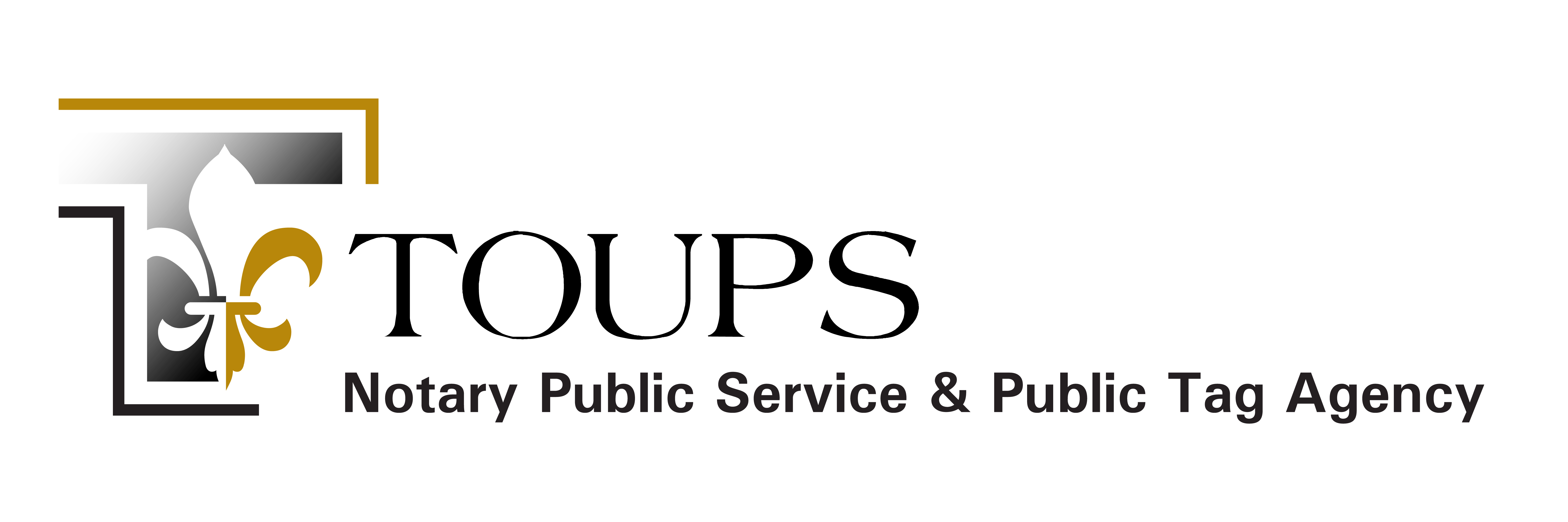 Toups Notary Public Service & Public Tag Agency