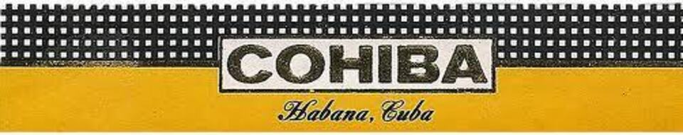 Cohiba label