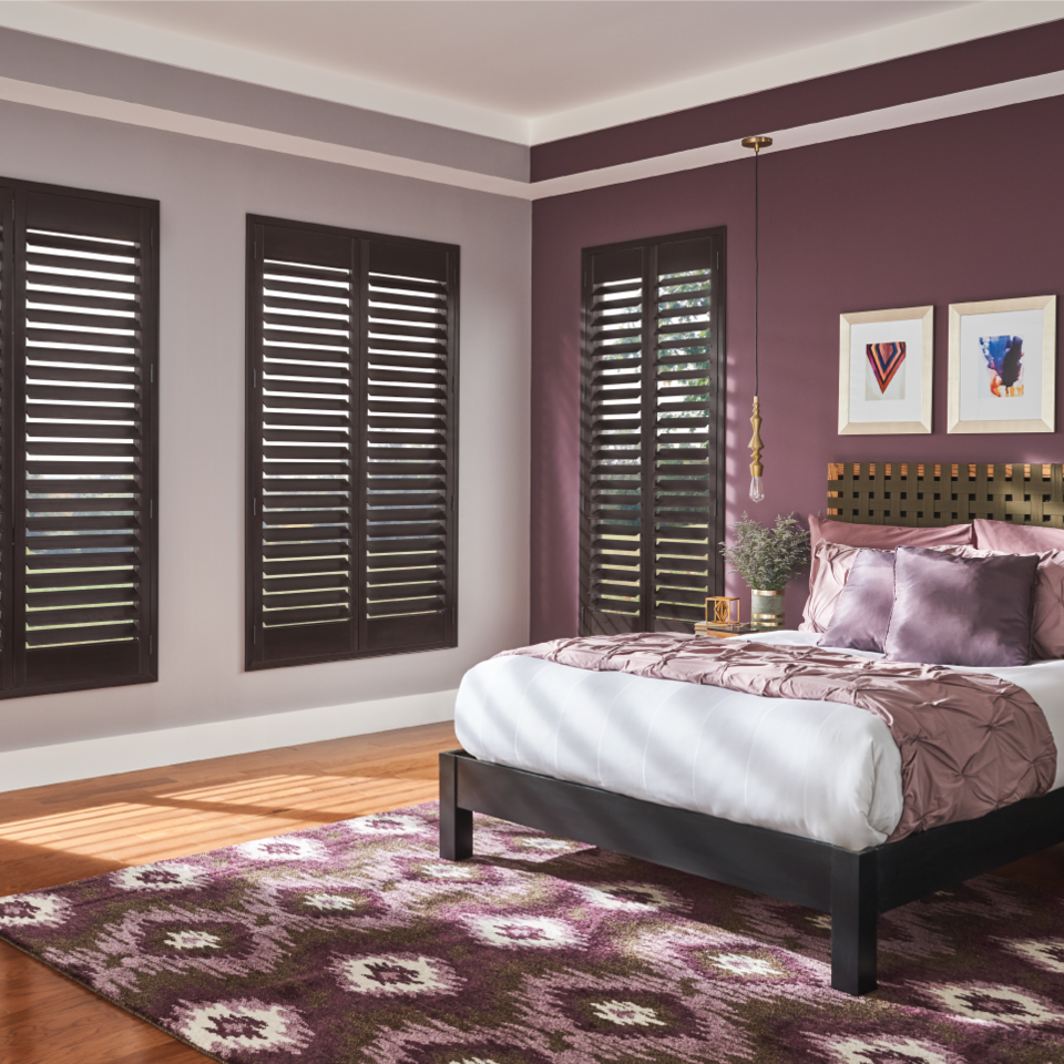 Wood Plantation Shutters in Boise