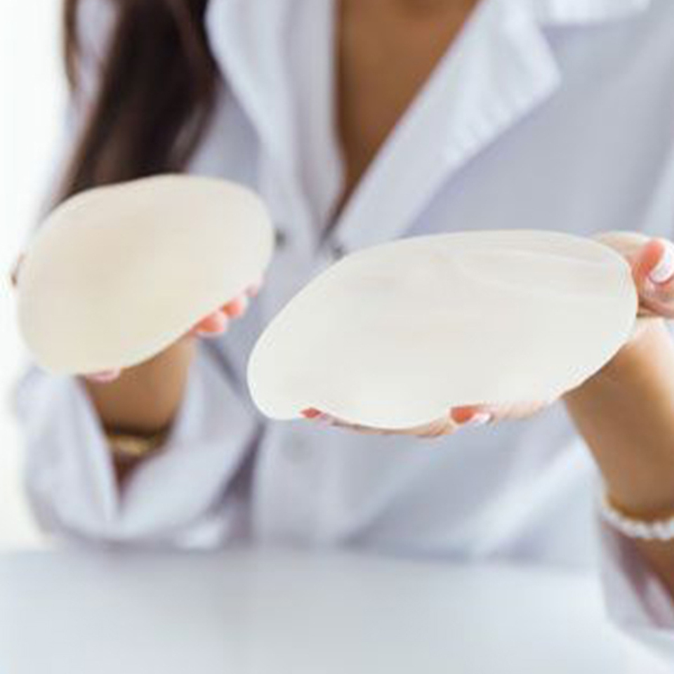Silicone breast augmentation