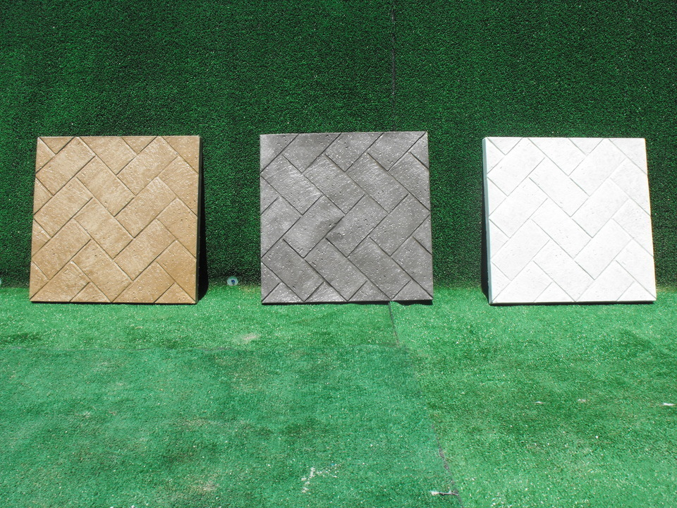 12 herringbone stepping stones20150505 6999 1msl50z