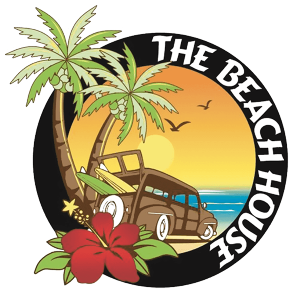 The beach house rincon pr logo icon
