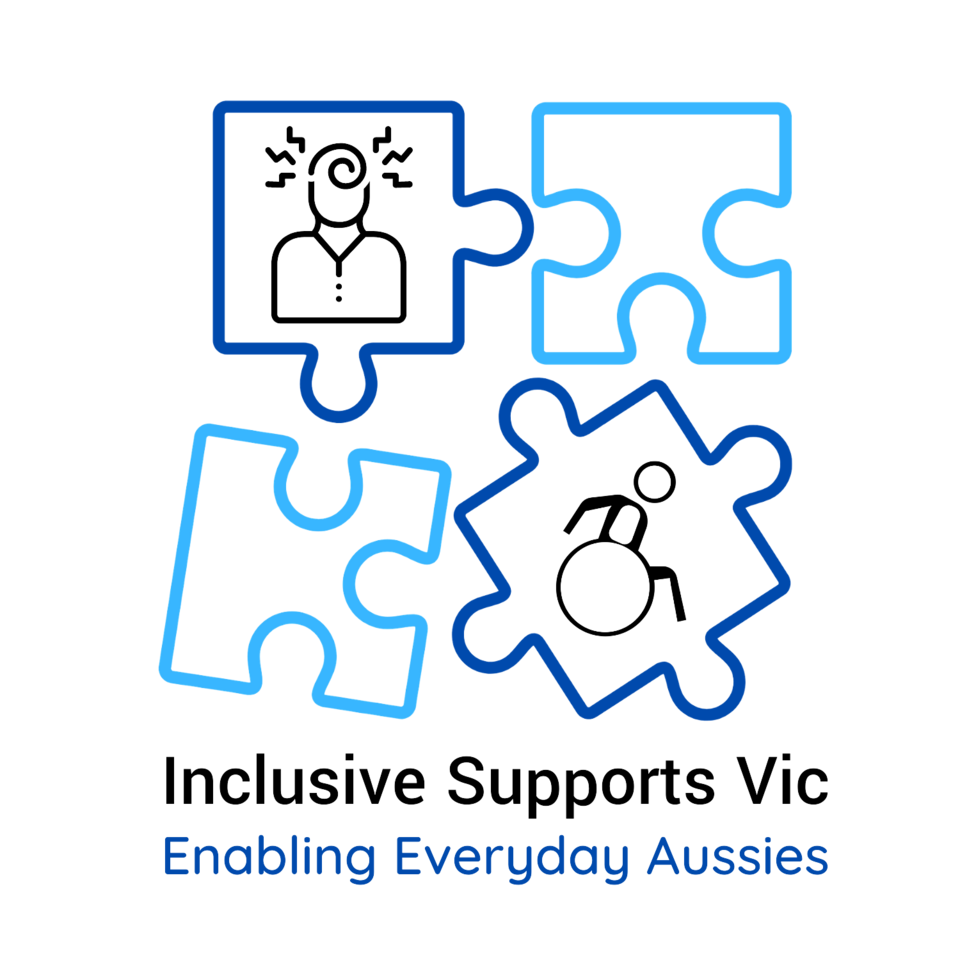 Inclusive Supports Vic logo
