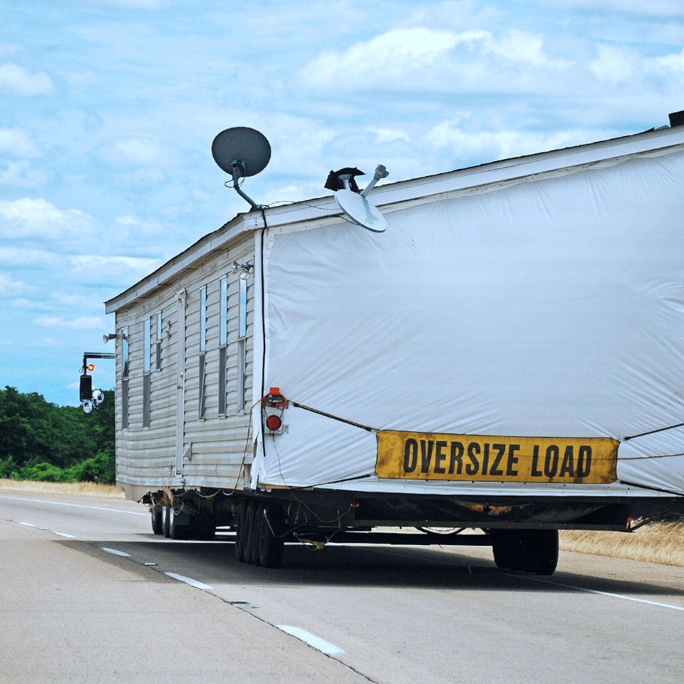 What is not covered under a mobilehome policy