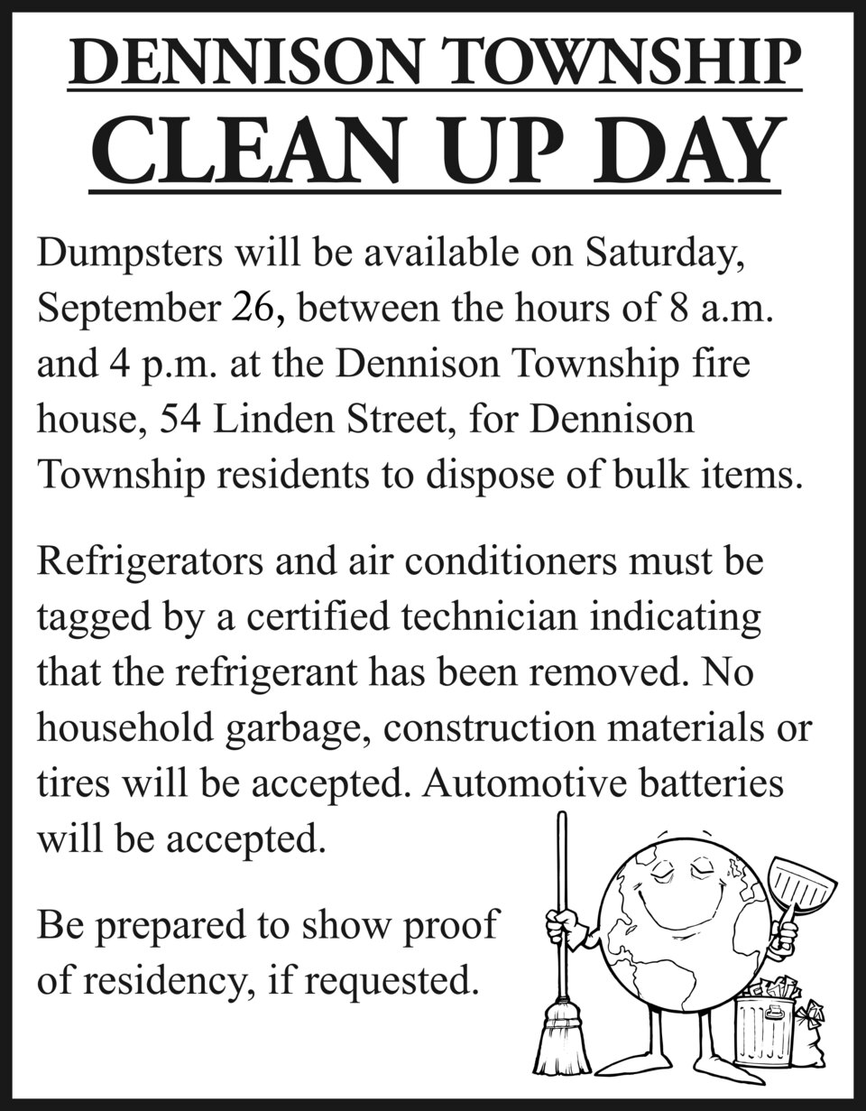Dennison township cleanup092620