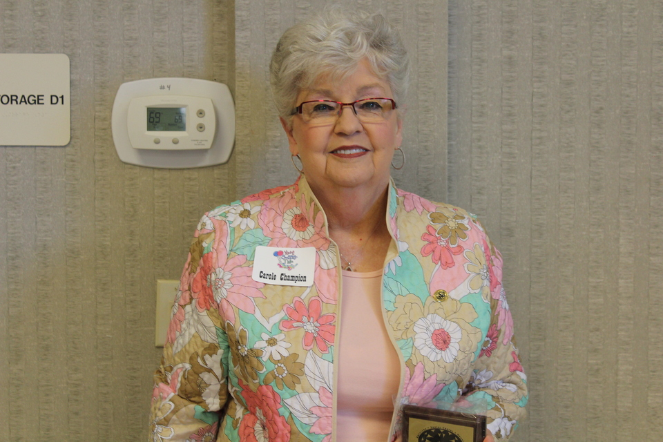 Senior Center Volunteer of the year 2017