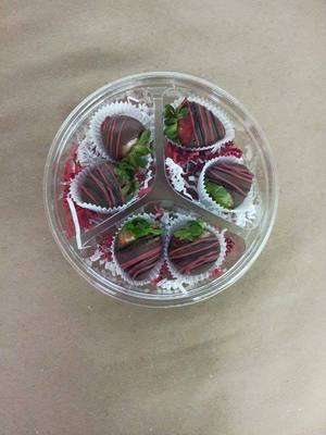 Valentine's Day Hand-dipped Chocolate Covered Strawberries
