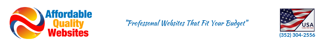 Affordable Quality Websites