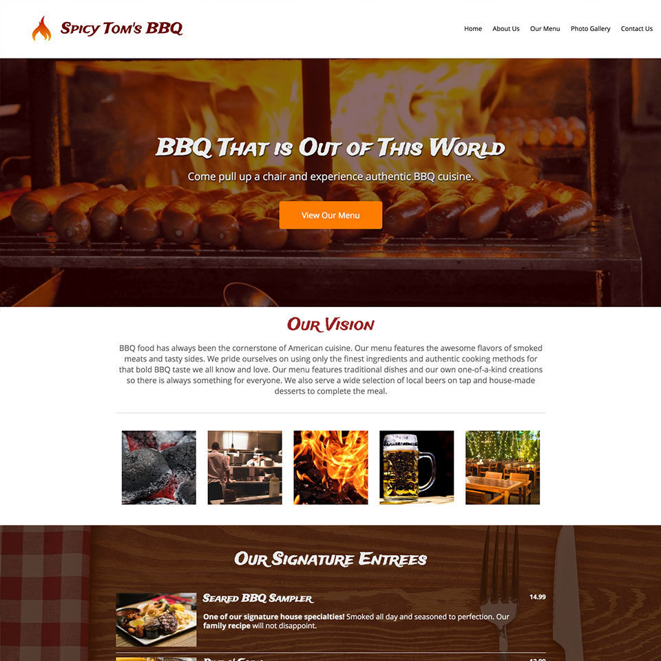 Bbq restaurant website design theme20180314 29195 wn49sx 960x960