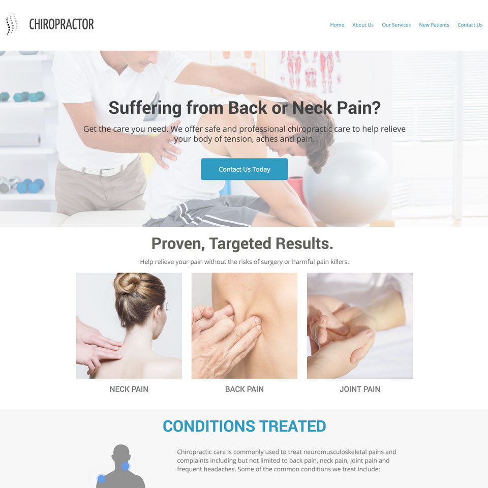 Chiropractor website theme20180529 13781 dpeam5 960x960