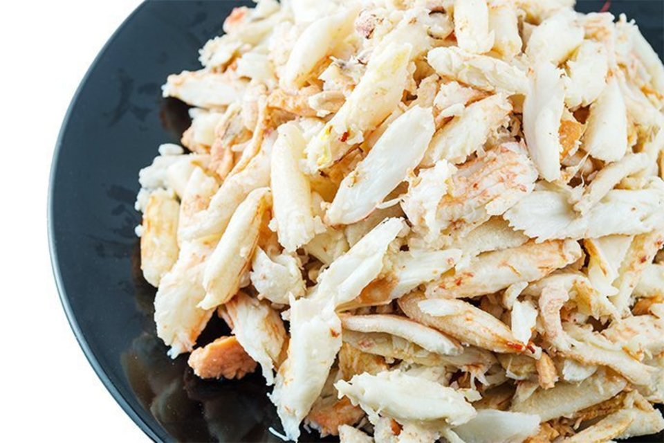 Maine crab meat med