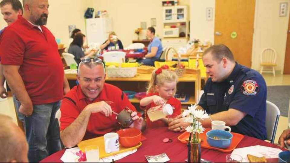 Montessori School hosts annual chili luncheon