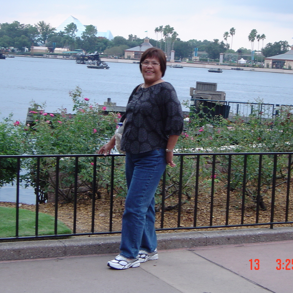 Rose enjoying epcot disney world oct 200920160617 17858 k1n8wa