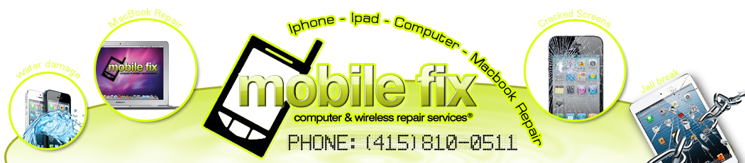 MOBILE FIX iPhone iPad Computer Macbook Repair