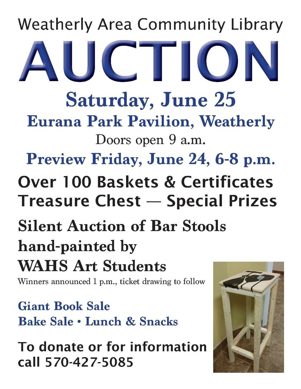 The Auction is coming!
