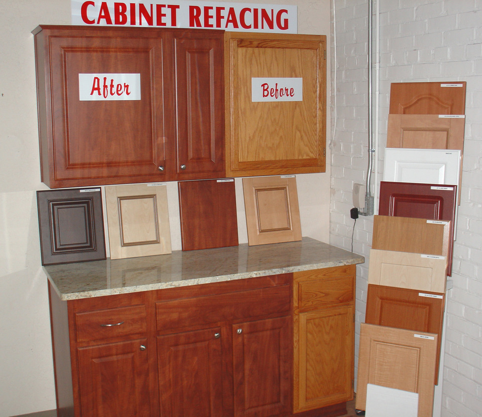White Kitchen Cabinets Refinishing: Kitchen Cabinet Refacing
