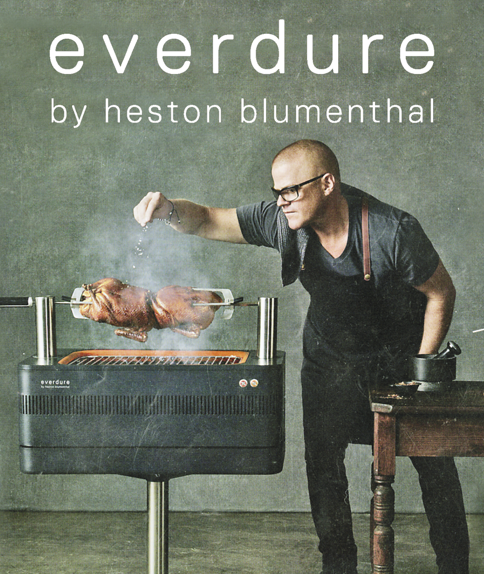 Everdure  heston blumenthal charcoal grills