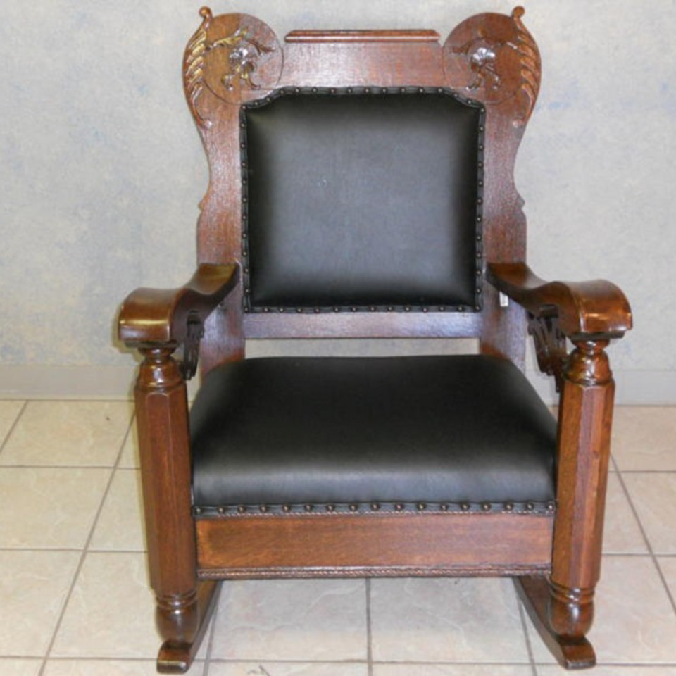 Wood black leather rocker20111107 29865 ub0ri9 0 960x960