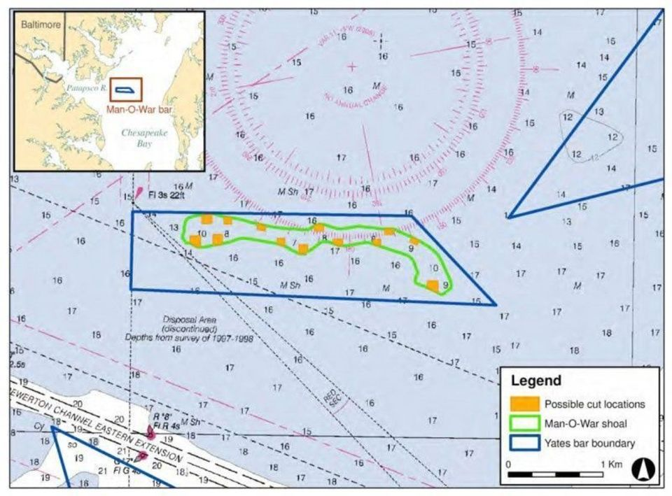 MDE recommends dredging Man-O-War Shoal; others still opposed