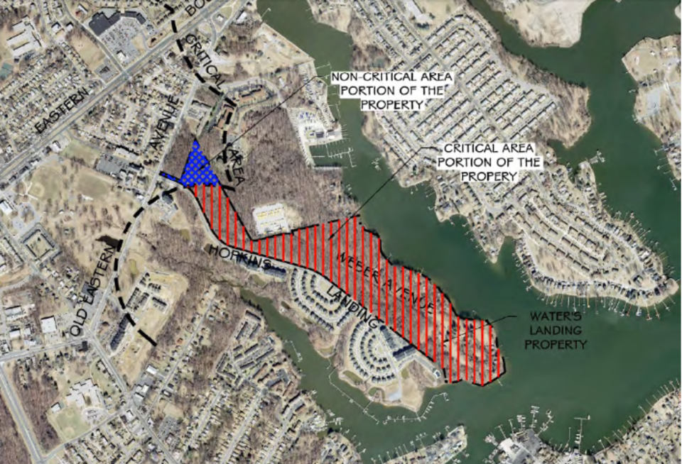 Water's Landing developer holds public meeting on growth allocation