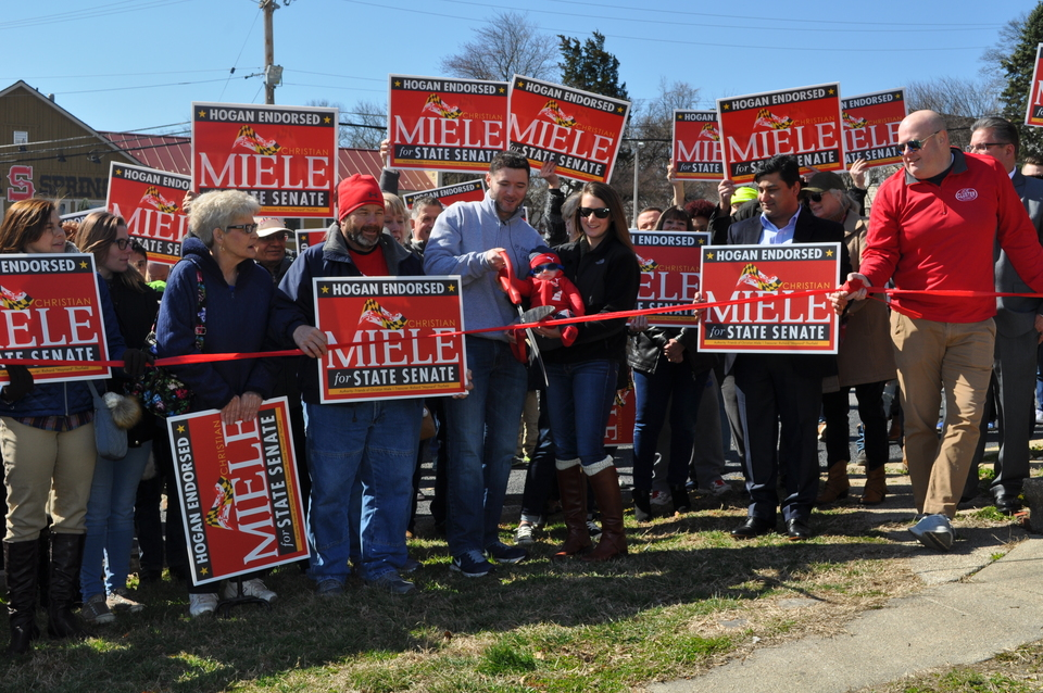 Miele opens campaign headquarters as state senate race begins to heat up