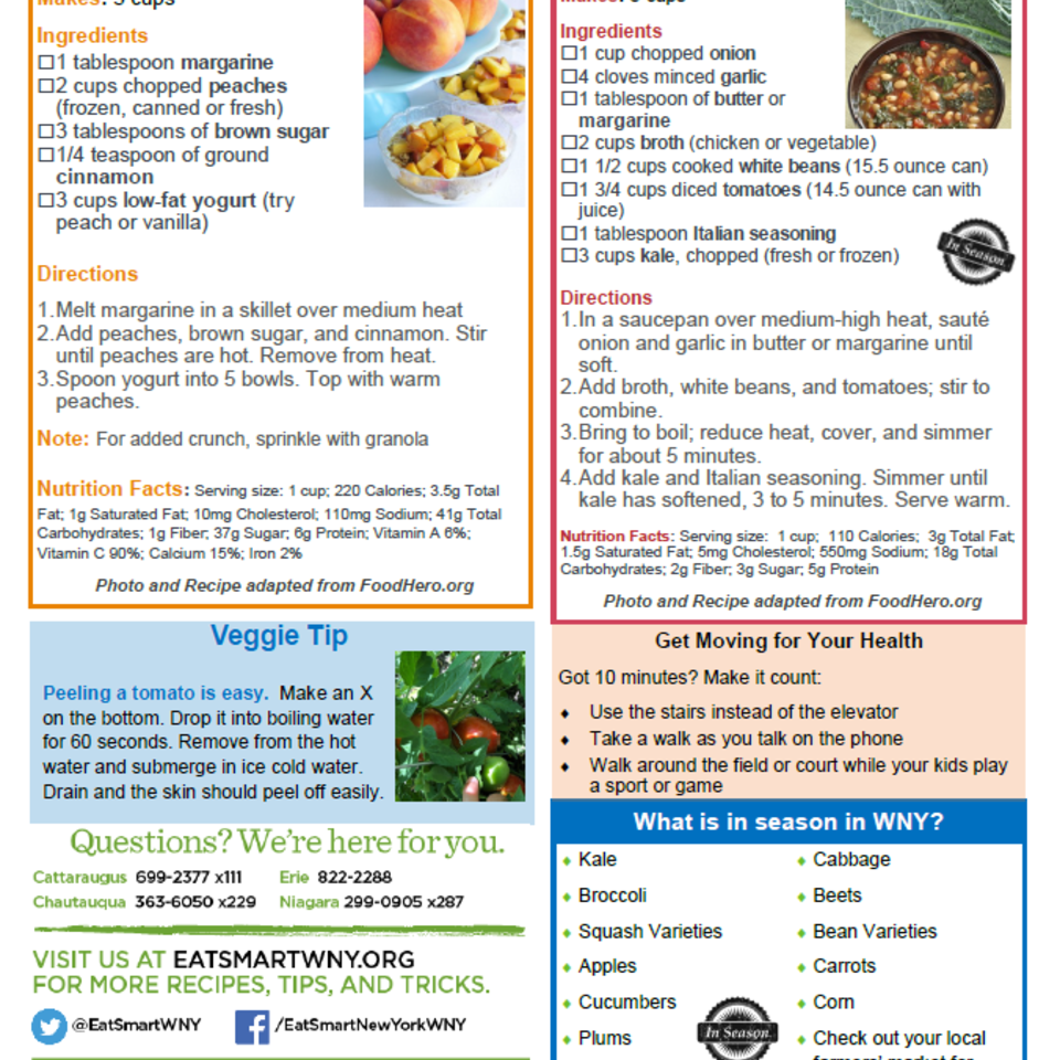 September eat smart newsletter 2