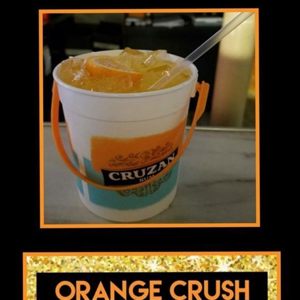 Orange crushes to go